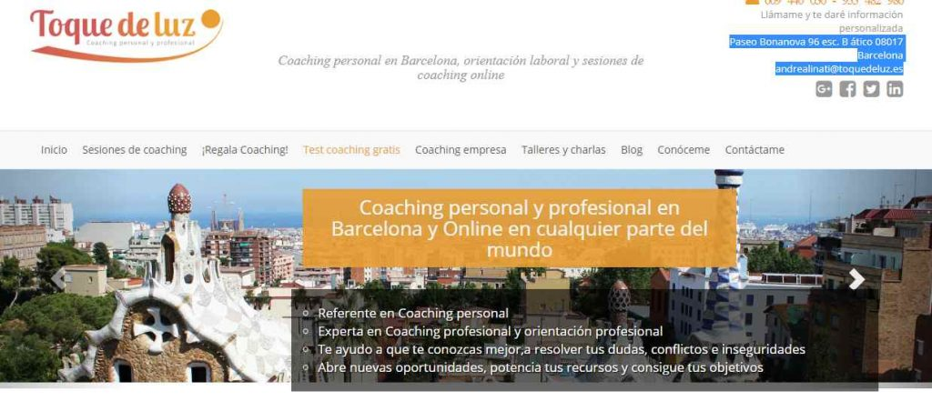 Coach personal en barcelona