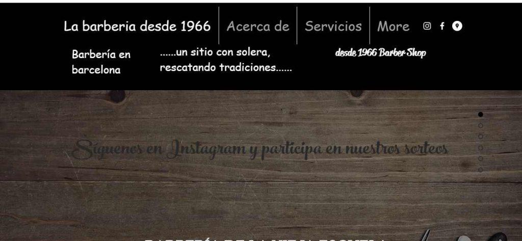 barberia barcelona desde 1966