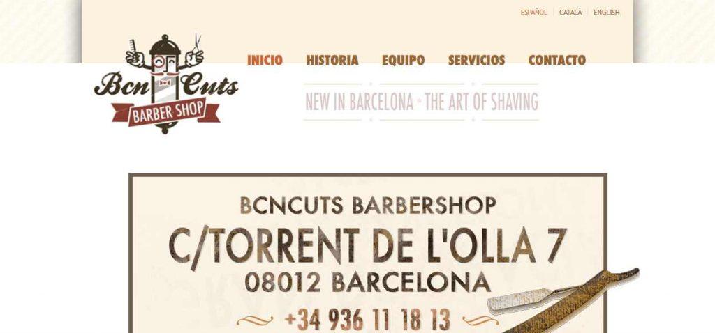 barberias barcelona