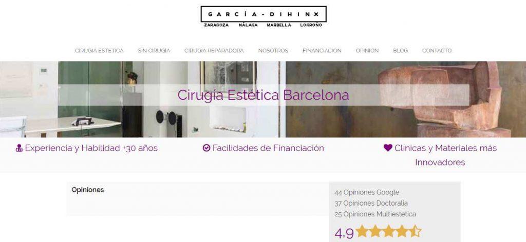 clinica aumento pecho barcelona