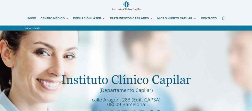 instituto clinico capilar