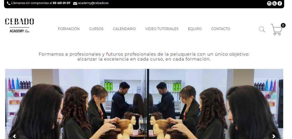 academia peluqueria barcelona