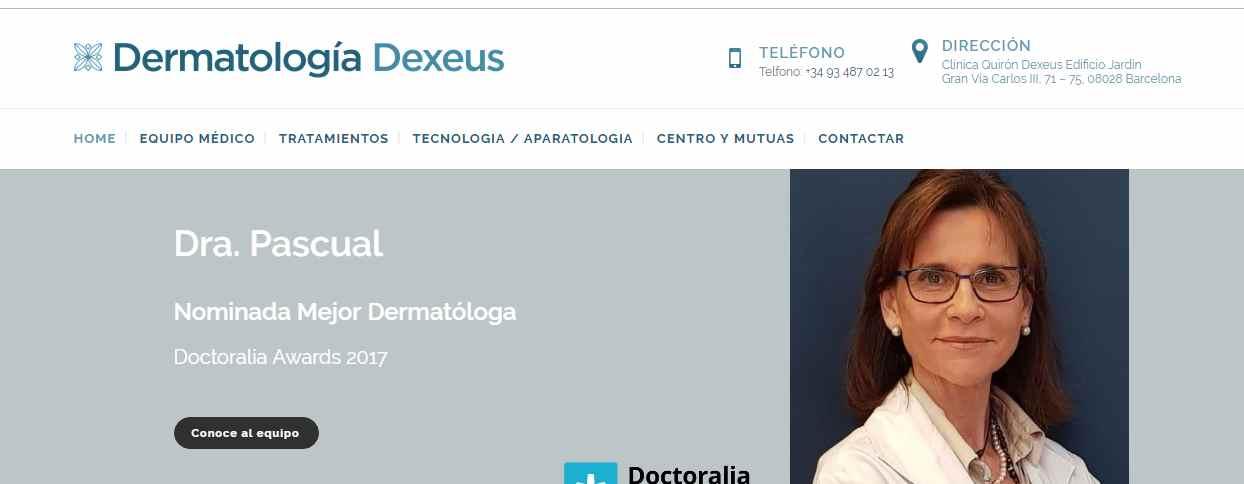 centros dermatologicos barcelona