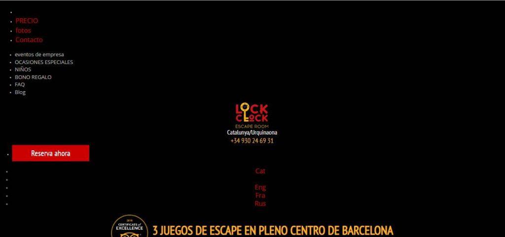 escape room barcelona